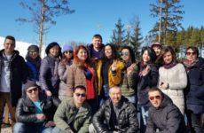 Шашлыки в Охта-парке 7 апреля 2018