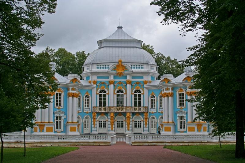 Парковая постройка в Пушкине