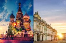 Где жить: Москва или Питер?