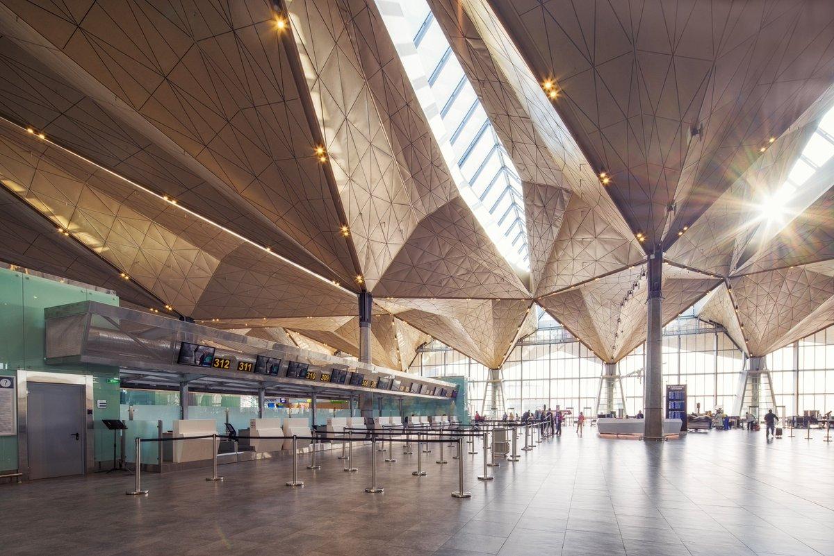 Стойки получения билетов в аэропорте Пулково