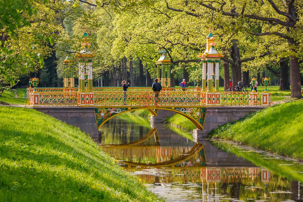 Китайская деревня в Александровском парке