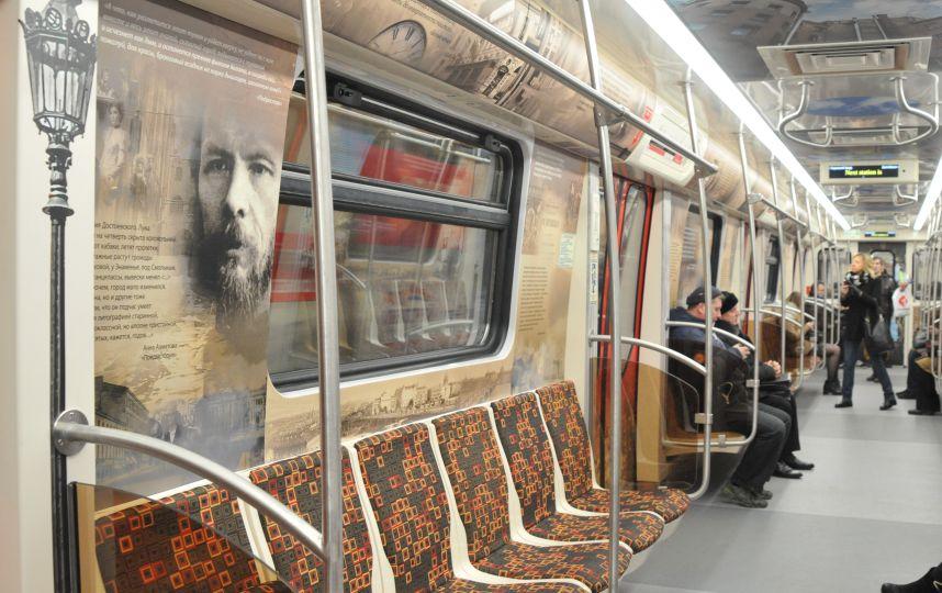 вагон в метро как исскуство