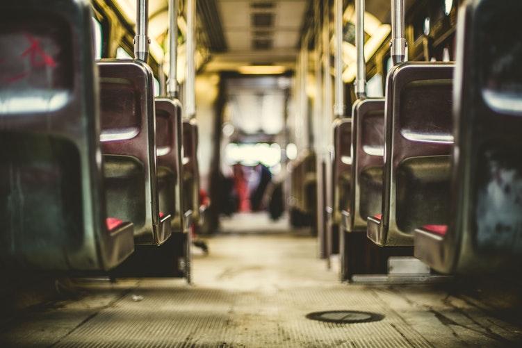 Фото салона автобуса