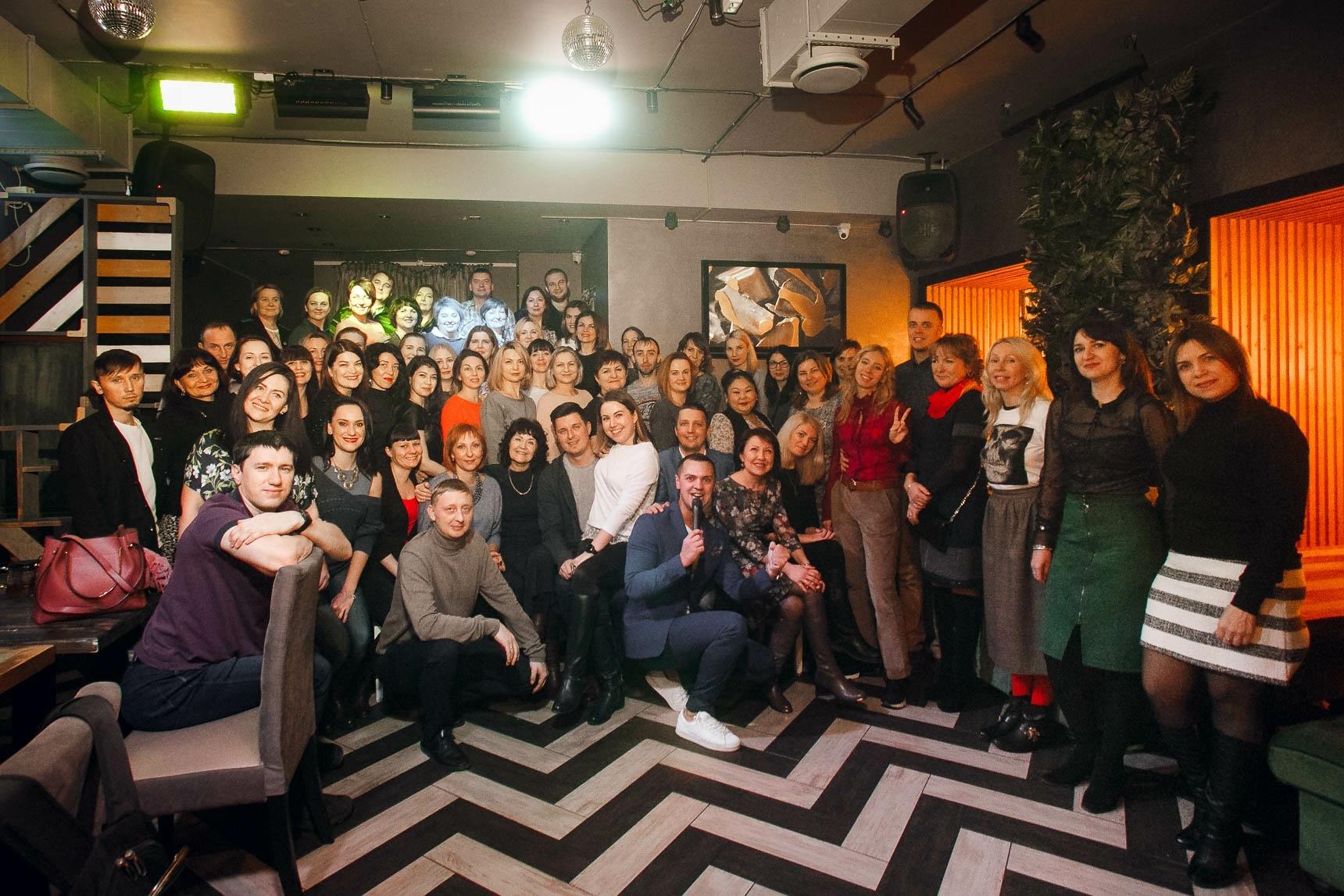 Встреча в ресторане «Бистрономика» 7 декабря 2018 г. Общее фото.