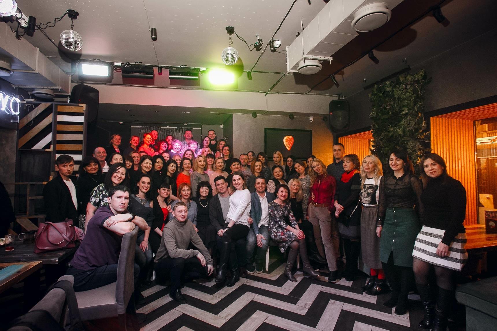 Встреча в ресторане «Бистрономика» фотография участников