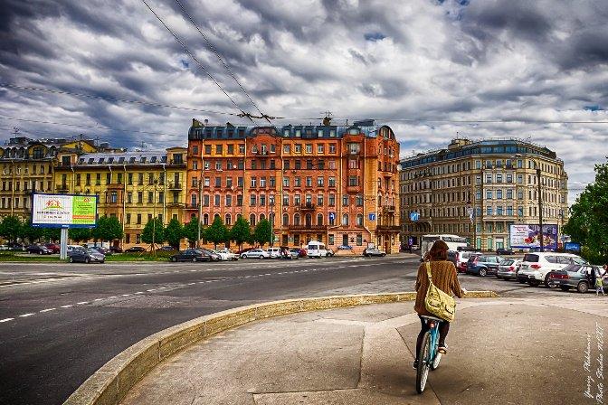 Петроградка летом