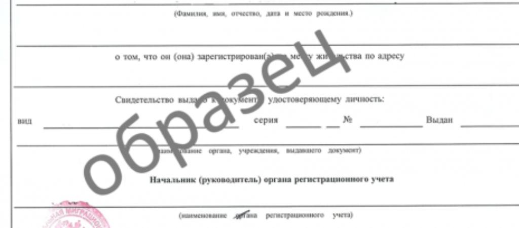 Временная регистрация в Петербурге