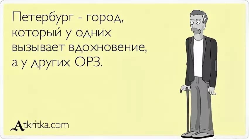 Мем про адаптацию к Петербургу
