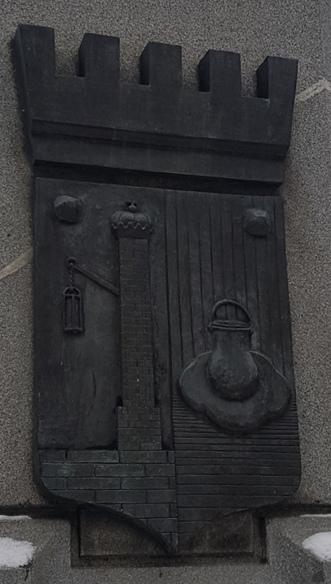 Памятник гербу Кронштадта